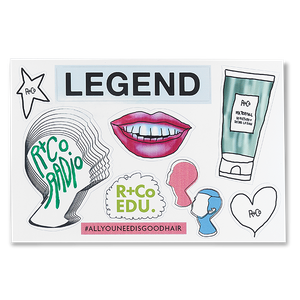 R+Co Radio Legends Stickers