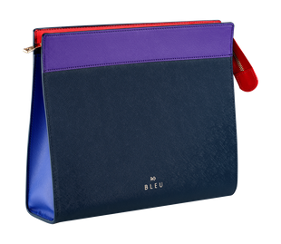 R+Co BLEU Deluxe Cosmetic Pouch