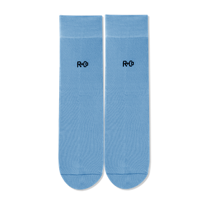 R+Co Blue Socks