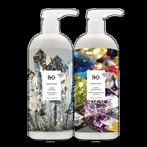 GEMSTONE Color Shampoo + Conditioner Retail Liter Set SALE