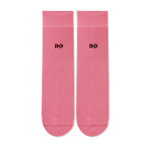 R+Co Pink Socks