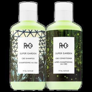 SUPER GARDEN Shampoo + Conditioner Set