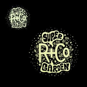 R+Co SUPER GARDEN Sticker Sheet