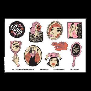 R+Co TWO-WAY MIRROR Sticker Sheet