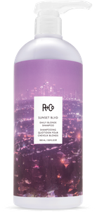 SUNSET BLVD Daily Blonde Shampoo Retail Liter
