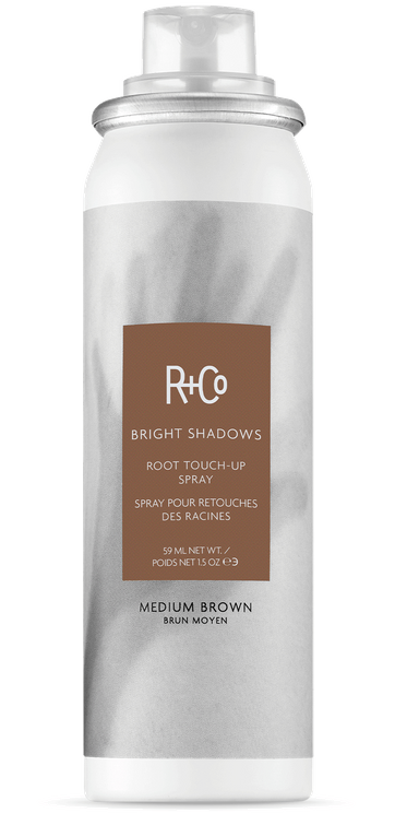 BRIGHT SHADOWS Root Touch-Up Spray: Medium Brown