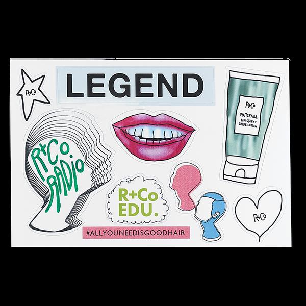 R+Co Radio Legends Stickers