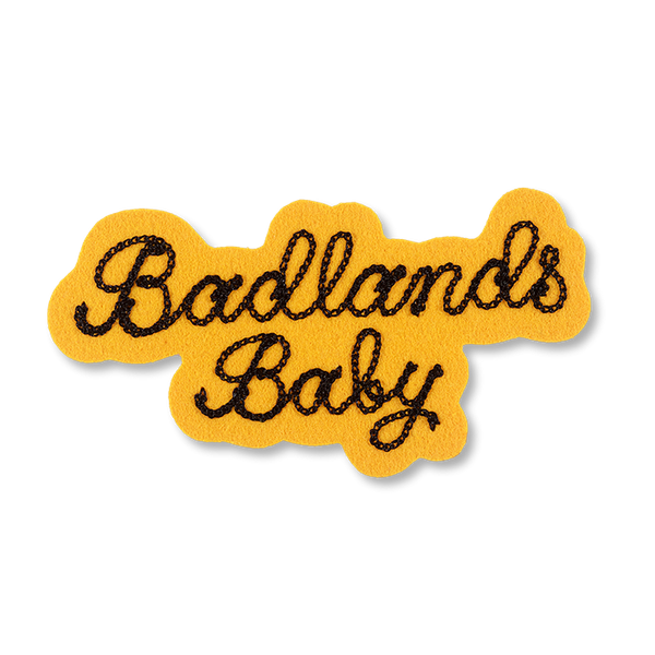 R+Co Badlands Baby Chain-Stitch Patch