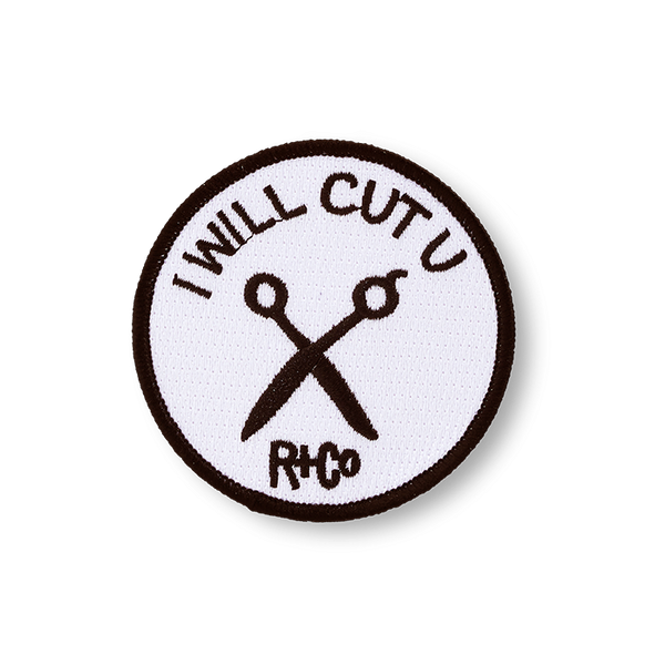 R+Co I Will Cut You Patch