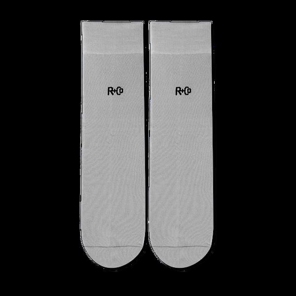 R+Co Grey Socks
