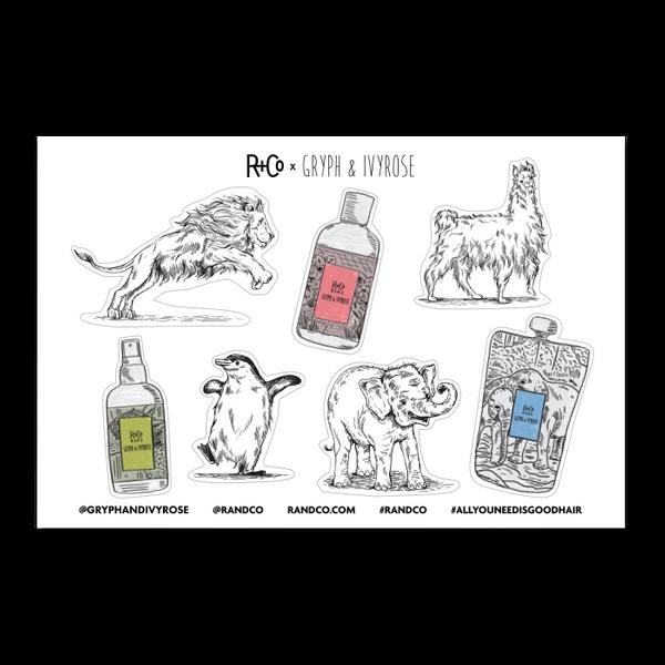 R+Co KIDS Sticker Sheet