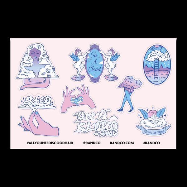 ON A CLOUD Sticker Sheet