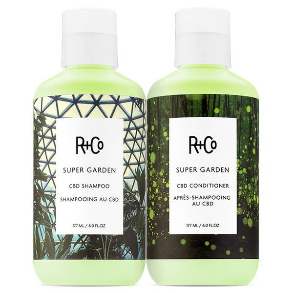 SUPER GARDEN Shampoo + Conditioner Set