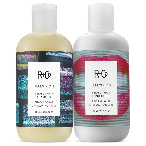 TELEVISION Perfect Hair Shampoo + Conditioner Set