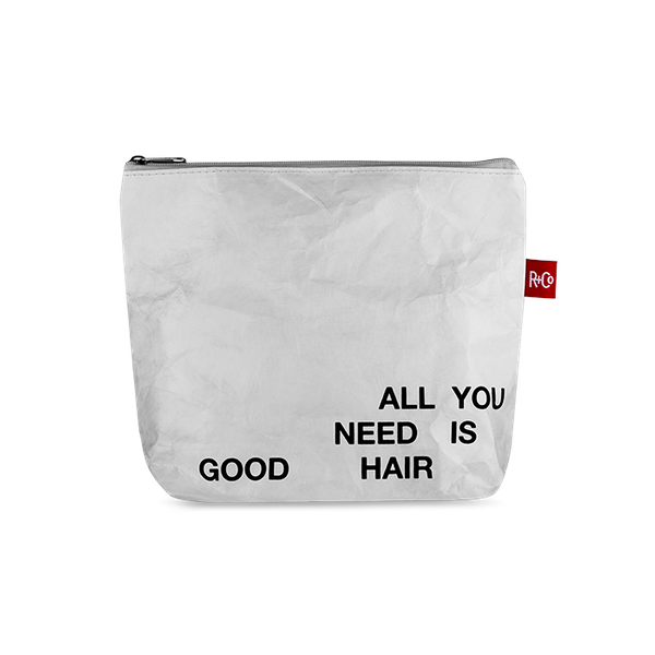 R+Co All You Need Is Good Hair Tyvek Pouch