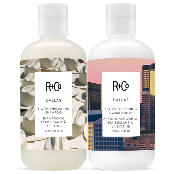 DALLAS Biotin Thickening Shampoo + Conditioner Set