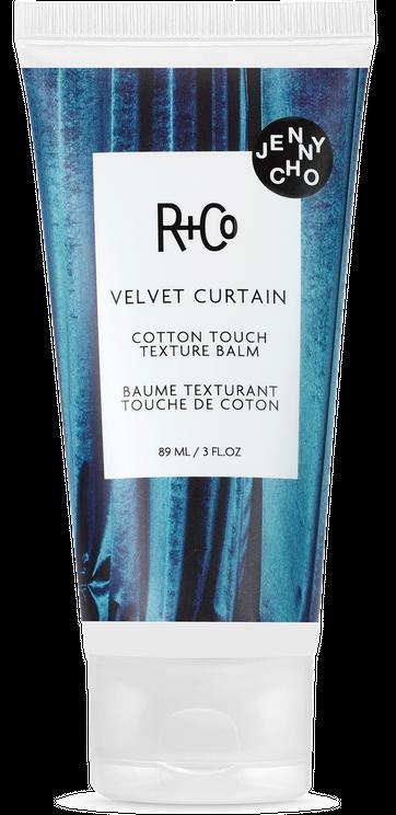 VELVET CURTAIN Cotton Touch Texture Balm