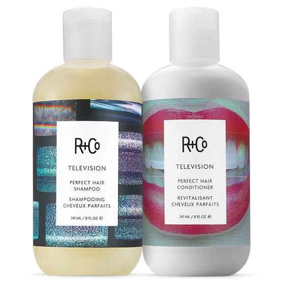 TELEVISION Perfect Hair Shampoo + Conditioner Set