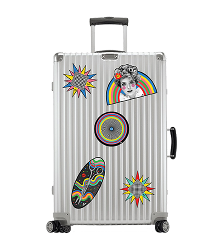 R+Co Luggage Stickers (Set of 5)