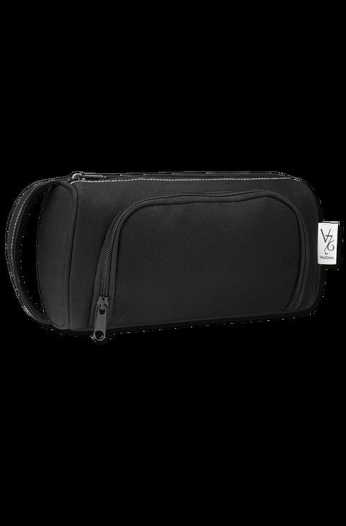 V76 Holiday Canvas Black Dopp Bag